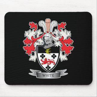 Mousepad Brasão branca da crista da família