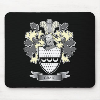 Mousepad Brasão da crista da família de Craig