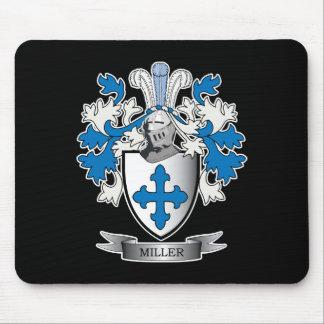 Mousepad Brasão da crista da família de Miller