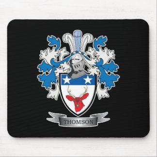 Mousepad Brasão da crista da família de Thomson