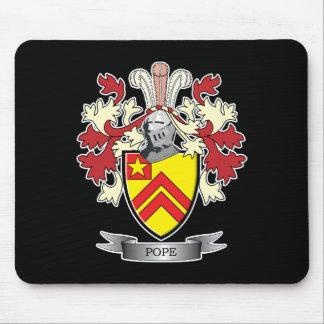 Mousepad Brasão do papa Família Crista