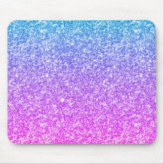 Mousepad Brilho colorido & design moderno dos Sparkles