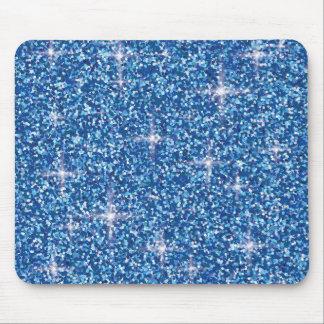 Mousepad Brilho iridescente azul