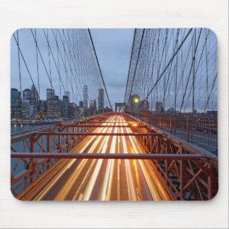 Mousepad Brooklyn bridge ao cair da tarde