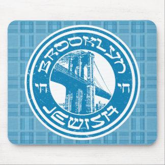 Mousepad Brooklyn New York Mousemat judaico