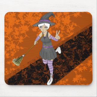 Mousepad Bruxa do Dia das Bruxas do Anime da edição