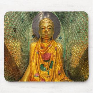 Mousepad Buddha dourado no templo