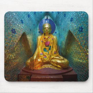 Mousepad Buddha na alcova ornamentado