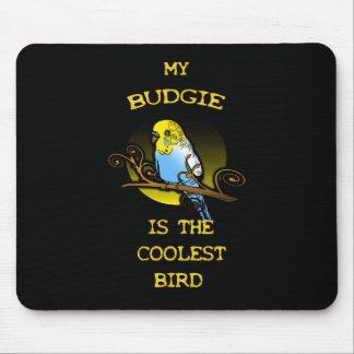 Mousepad Budgie é o pássaro o mais fresco