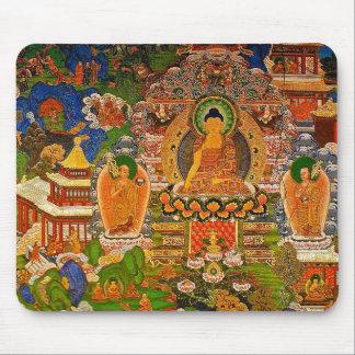 Mousepad Budismo budista de Buddha que abençoa o Bohemian