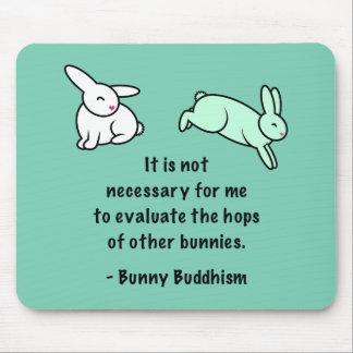 """Mousepad Budismo """"saltos do coelho de outros coelhos """""""