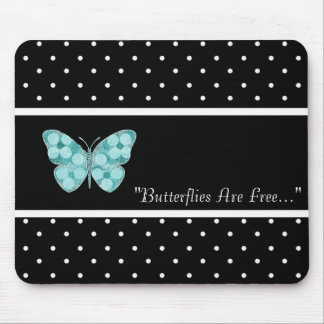 MOUSEPAD BUTTERFLY-FREE-TEMPLATE-VINTAGE-STYLISH
