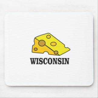Mousepad Cabeça do queijo de Wisconsin