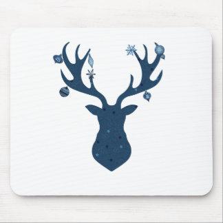 Mousepad Cabeça dos cervos de Boho do Natal