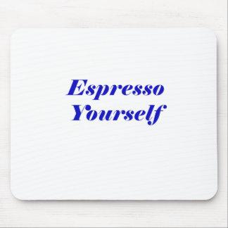 Mousepad Café você mesmo