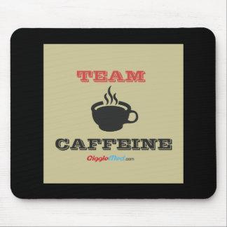 Mousepad Cafeína da equipe