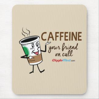 Mousepad Cafeína, seu amigo na chamada