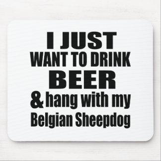Mousepad Cair com meu Sheepdog belga