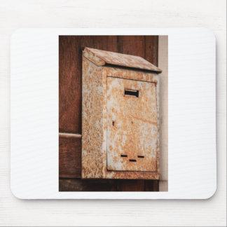Mousepad Caixa postal oxidada fora