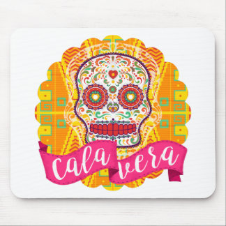 Mousepad Calavera. Dia do crânio mexicano inoperante do