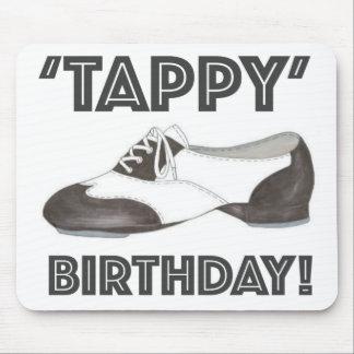 Mousepad Calçados brancos do professor da dança de torneira