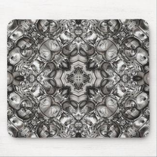 Mousepad Caleidoscópio cinzento