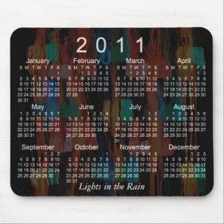 Mousepad Calendário 2011 abstrato
