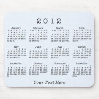 Mousepad Calendário 2012