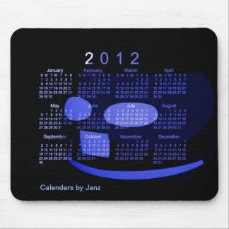 Mousepad Calendário 2012 de mesa