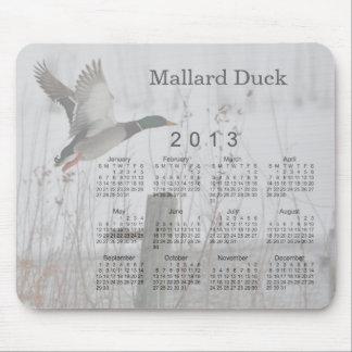 Mousepad Calendário 2013 do pássaro