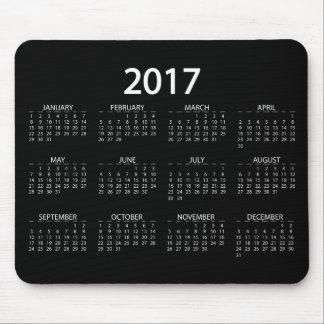 Mousepad Calendário 2017