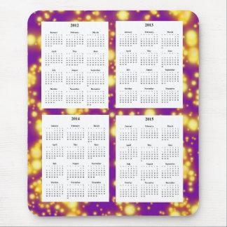 Mousepad Calendário de 4 anos (2012-2015)