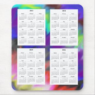 Mousepad Calendário de 4 anos (2013-2016)