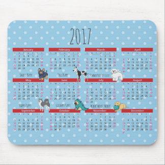 Mousepad Calendário do poema 2017 do poema