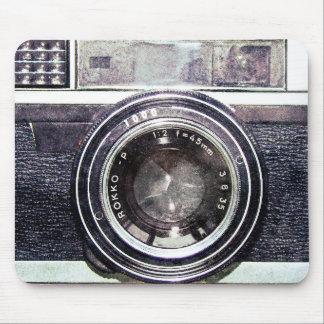Mousepad Câmera preta velha