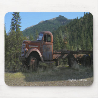 Mousepad Caminhão histórico nas montanhas…