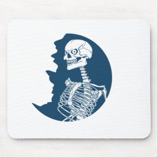 Mousepad camisa da lua azul