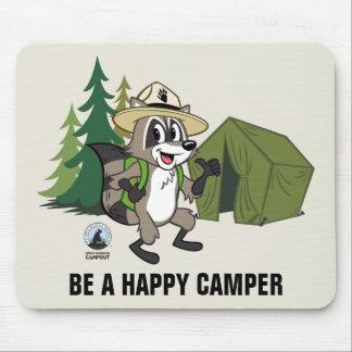Mousepad Campout americano do rick | da guarda florestal