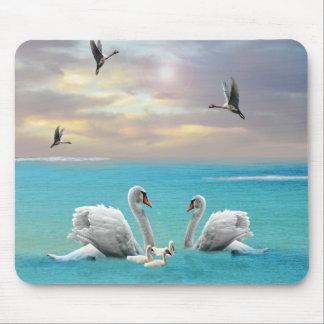 Mousepad Canção da cisne branca,