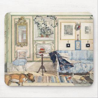 Mousepad Canto acolhedor por Carl Larsson