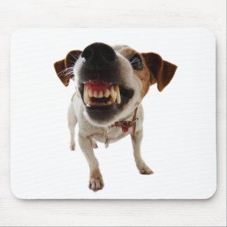 Mousepad Cão agressivo - cão irritado - cão engraçado