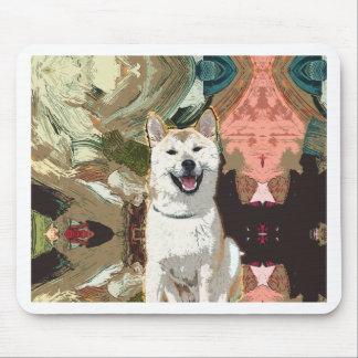 Mousepad Cão de Akita Inu
