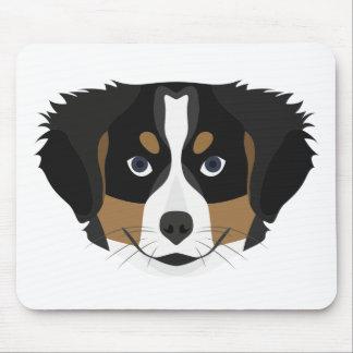 Mousepad Cão de montanha de Bernese da ilustração