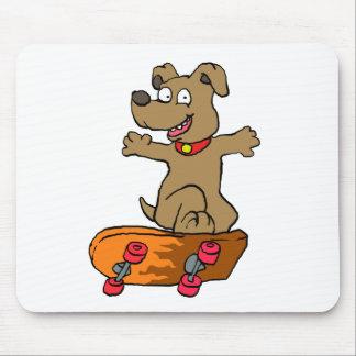Mousepad Cão do patinador