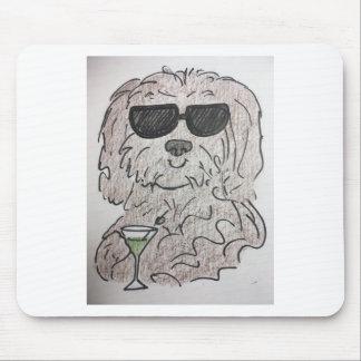 Mousepad Cão martini de Havanese