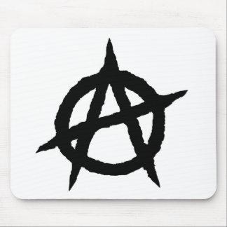 Mousepad Caos do sinal da cultura da música do punk do