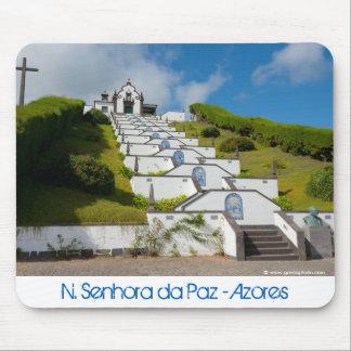 Mousepad Capela em ilhas de Açores