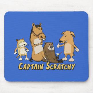 Mousepad Capitão engraçado Scratchy
