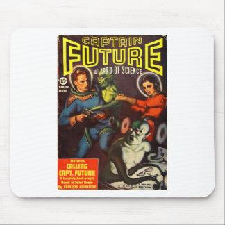 Mousepad Capitão Futuro e Doom. solar