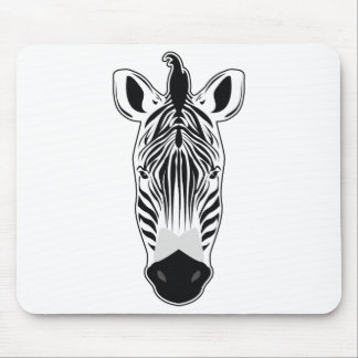 Mousepad Cara da zebra